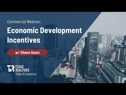 Commercial webinar: Economic development incentives