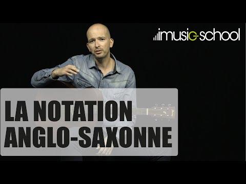 Guitare débutant - Les bases : La notation anglo-saxonne