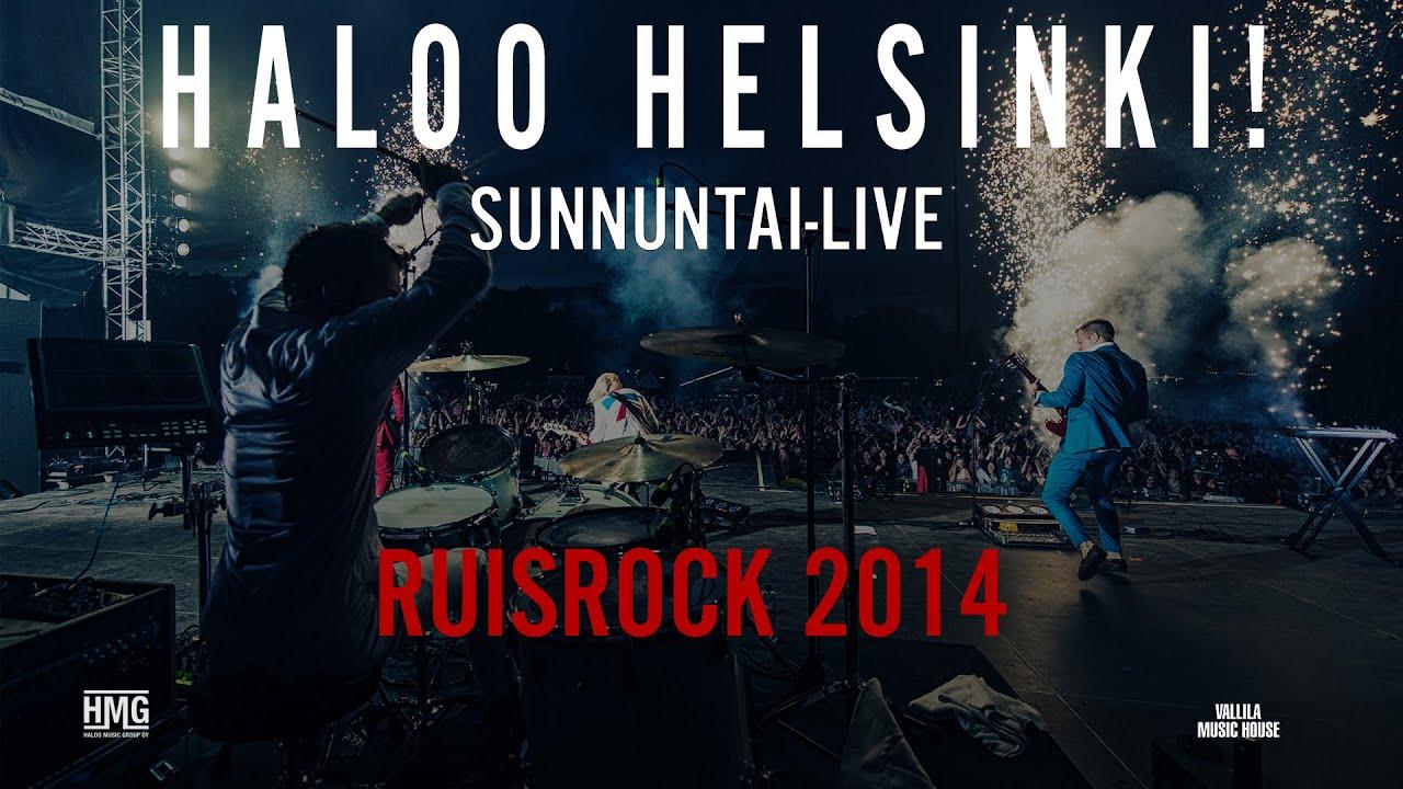 Haloo Helsinki Biisit