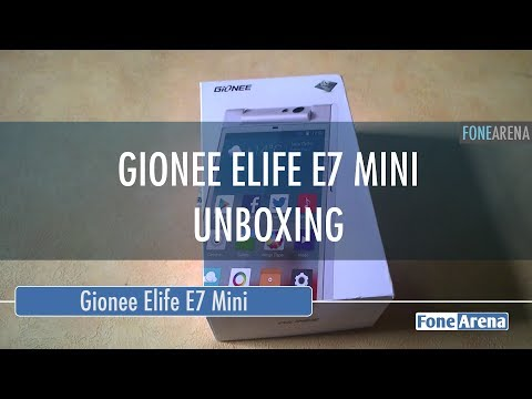 Review of gionee elife e7 mini