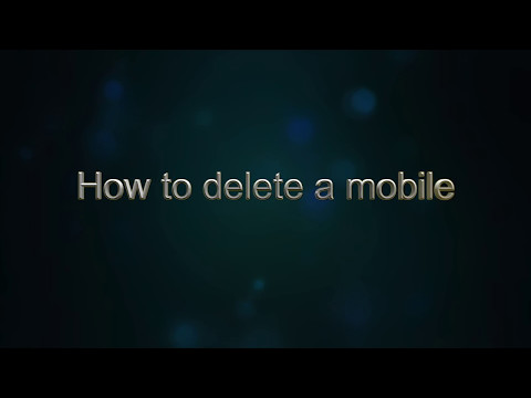 How to delete a Mobile from the TPK Music System in a Volkswagen Polo 1 2 TDI Match Hatchback