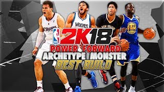 NBA 2K18 - BEST Power Forward DUAL ARCHETYPES Most Slept On Build? + My 2nd Build Going To Be NASTY!
