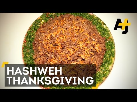 An American Thanksgiving, With Palestinian Hashweh