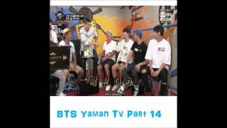 ( Eng Sub )  BTS Yaman TV Part 14