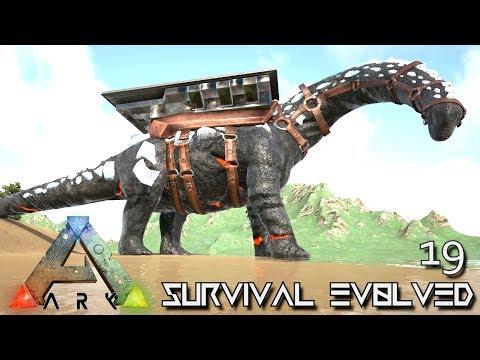 ARK: SURVIVAL EVOLVED - NEW TITANOSAUR & ZOMBIE SABERTOOTH TAME !!! E19 (MOD ARK PUGNACIA DINOS)