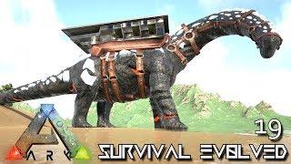ark survival evolved new titanosaur zombie sabertooth tame e19 mod ark pugnacia dinos