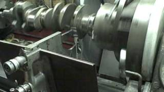 Engine Building Class: CRANK GRINDING MACHINE