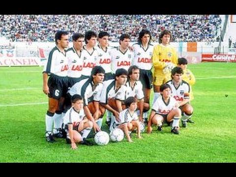 Colo Colo vs Barcelona Copa Libertadores de America 1991