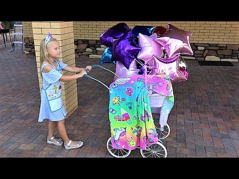 Alice Pretend Play with BABY DOLL and Toys for kids!