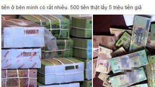 (VTC14)_Gần Tết lại công khai bán tiền mới giả trên mạng