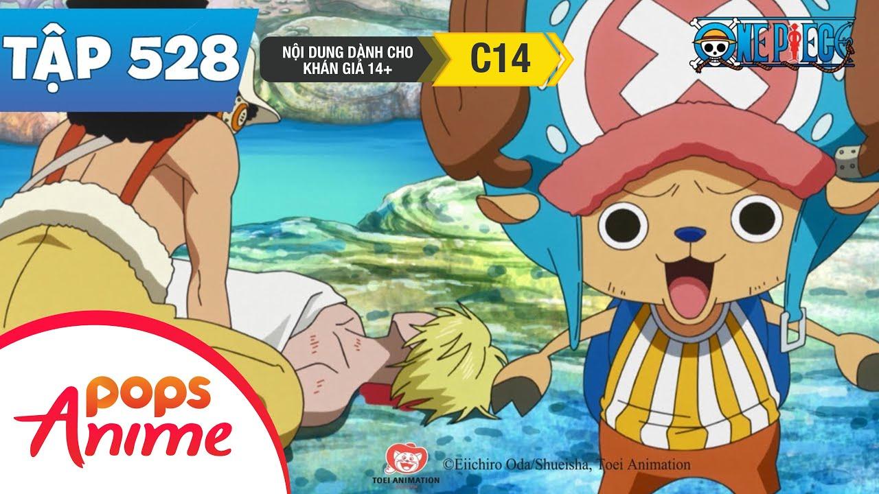 One Piece Tập 528 - Cơn Hưng Phấn Bộc Phát Đỉnh Điểm! Tính Mạng Sanji Gặp Nguy! - Đảo Hải Tặc