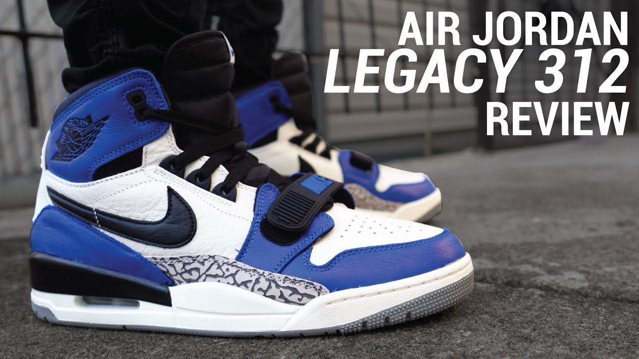 8ba0925daed6 DON C S AIR JORDAN (LEGACY 312 REVIEW   ON FEET) - YouTube
