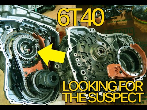 CHEVY CRUZE 6T40 TRANSMISSION FAILING WHEN HOT! (CAUSES/FIX)
