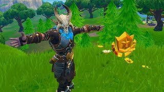 Search Where The Stone Heads Are Looking - Fortnite Season 5 Week 6 Challenge