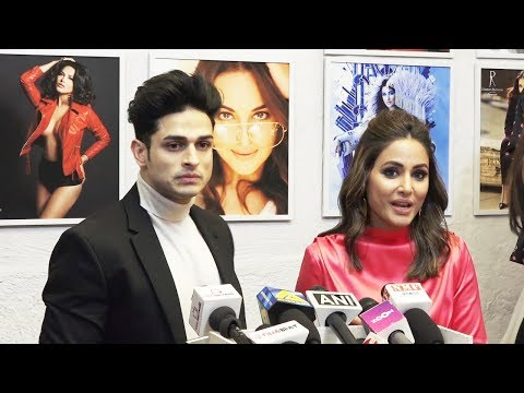 Hina Khan And Priyanka Sharma At Dabboo Ratnani Calendar Launch 2019