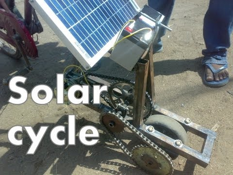solar cycle 5 watts only mechanical project