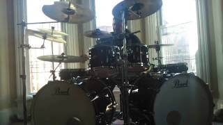Bad Religion - In Their Hearts is Right drums (Pearl Masters MCX kit) (HD)