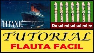 Titanic Theme en Flauta Dulce