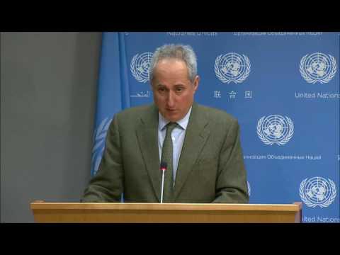 ICP Asks UN About Myanmar, de Mistura Plans, Burundi, Yemen, Kurdistan and UNannounced SG Travel