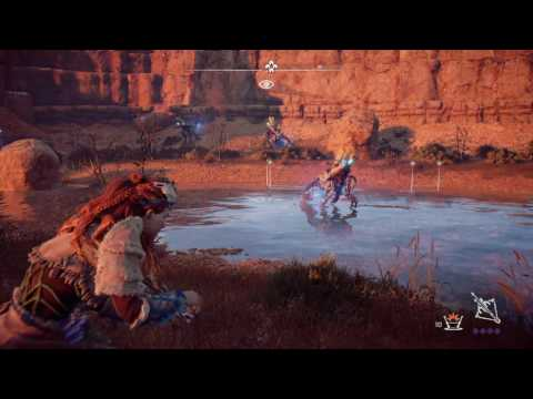 Horizon Zero Dawn Great Metal Vessel and Chillwater Farming Spot