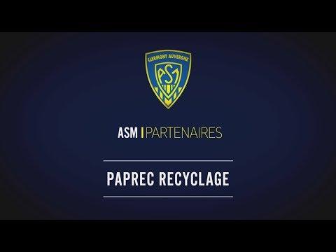 PAPREC Partenaire Principal Du Club ASM Clermont Auvergne