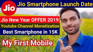 Jio Smartphone Launch Date,Jio New Year Offer 2019,Oneplus 7, Youtube Channel Monetization