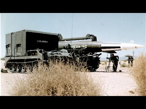 US Army Missiles Pershing | Ground to Ground Missiles Arsenal | Military