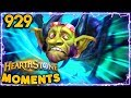 One of the BEST Turns EVER!!! | Hearthstone Daily Moments Ep.929