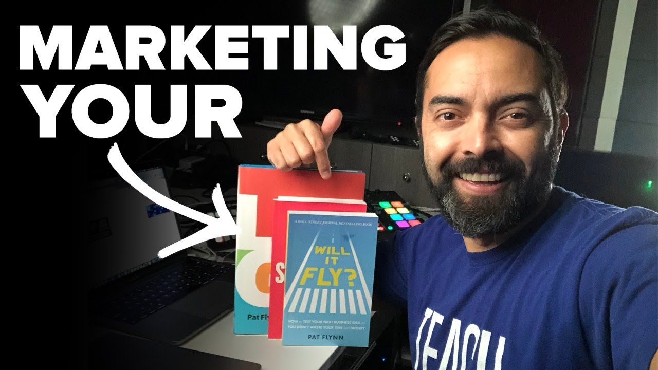 How to Market a Book and Sell More - Day 189 of The Income Stream