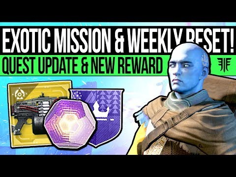 Destiny 2 | NEW EXOTIC MISSION & FINAL BANNER! Cryptarch Quest, Activities & Eververse (13th Nov)