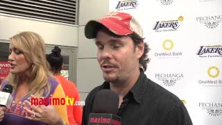 Kevin Dillon Interview at 2013 LA Lakers Casino Night ARRIVALS