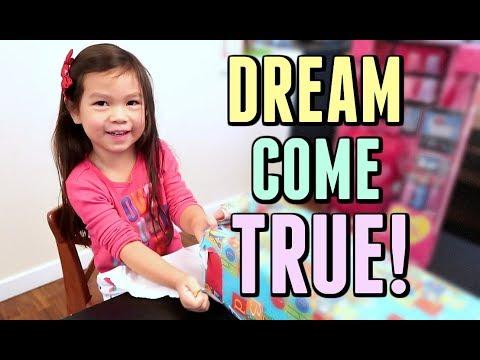 JULIANNA'S BIRTHDAY WISH COME TRUE! - October 18, 2017 -  ItsJudysLife Vlogs thumbnail