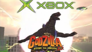 [Xbox] All Rage Attacks (Godzilla: Destroy All Monsters Melee)