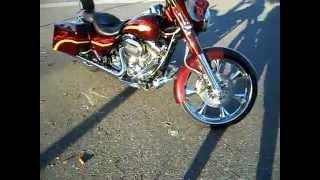 America DLux Motorcycle Bagger Parts - Canada Azzkikr Custom Motorcycles - CVO Street Glide