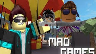 (SCG) ME Y tnkfighter jugando MAD Games (ROBLOX)