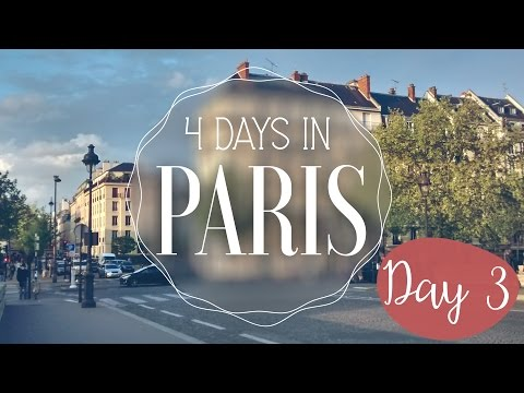 Paris in 4 days! Day 3: Galeries Lafayette, Saint Michel, bridges & Eiffel Tower by night