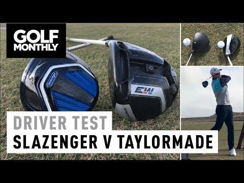 £50 vs £479 Driver Test I Slazenger vs TaylorMade I Golf Monthly
