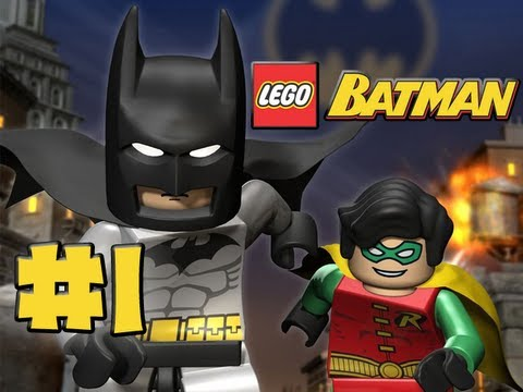LEGO Batman - Episode 1 - You Can Bank on Batman HD Gameplay Walkthrough