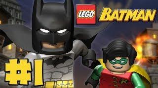 Video LEGO Batman - Episode 1 - You Can Bank on Batman (HD Gameplay Walkthrough) download MP3, 3GP, MP4, WEBM, AVI, FLV November 2018