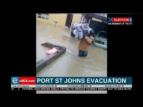 Port St John's evacuation