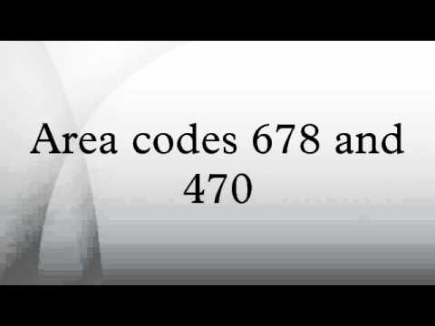 Area Codes And YouTube - What area code is 470