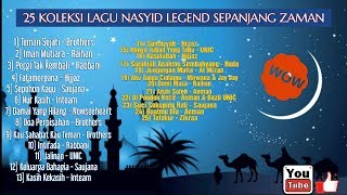 25 koleksi lagu nasyid legend sepanjang zaman