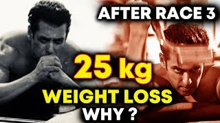 Salman Khan LOSSES 25 KG Weight For Next Film BHARAT
