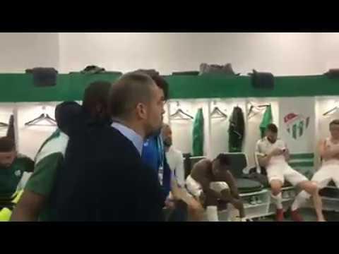 Futbolcuların maç sonu sevinci | Bursaspor-Konyaspor