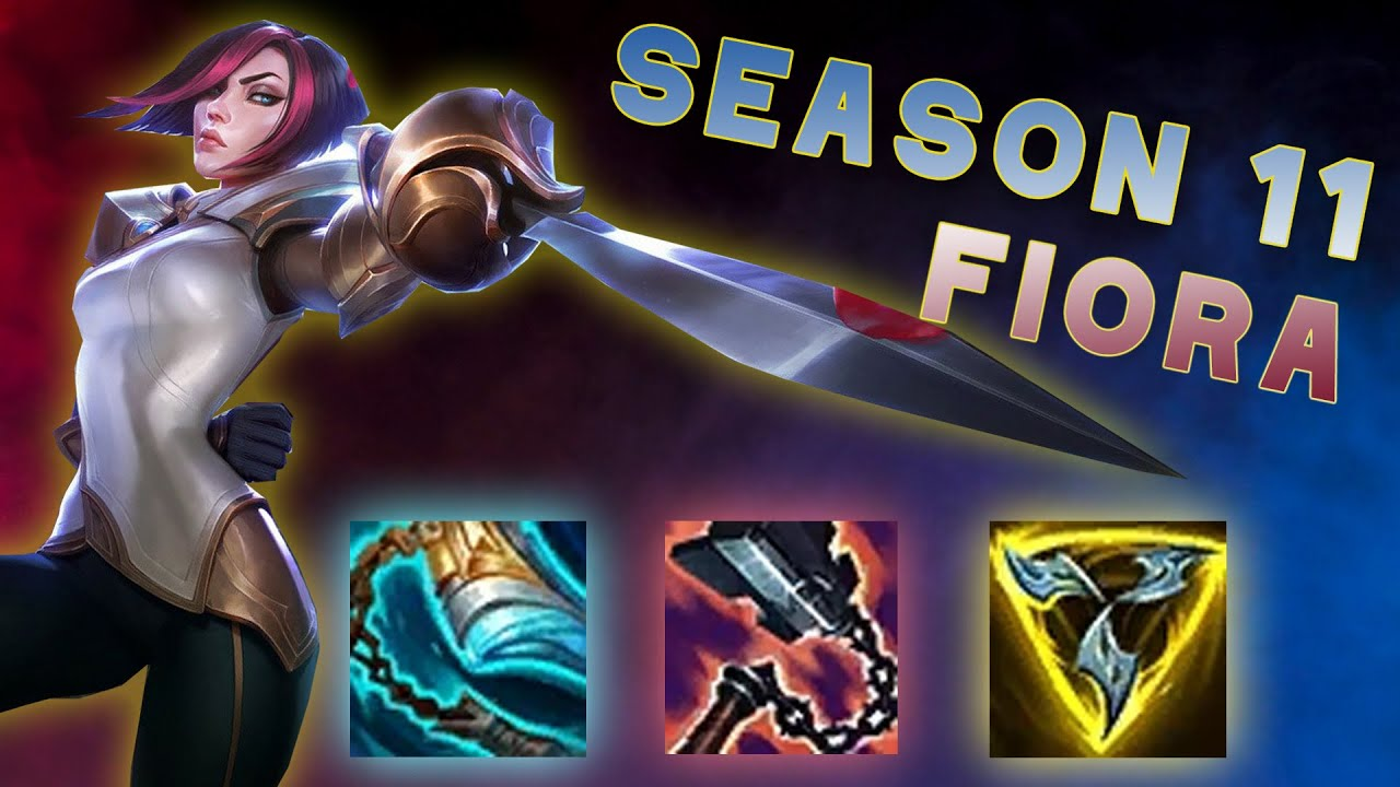 Fiora S New Items Tested For Season 11 Youtube