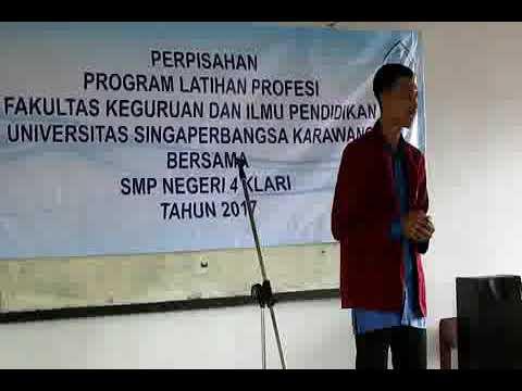 PLP UNSIKA 2017 @SMPN 4 KLARI