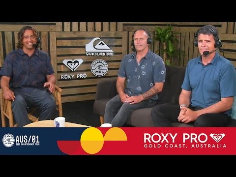 Post Show: Day 1 of the Roxy Pro Gold Coast 2017