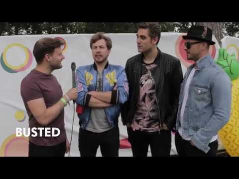 Interview: Busted @ V Festival 2017