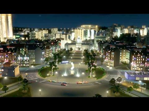 Nightlife at Cities: Skylines