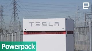 Tesla Powerpack: First Look